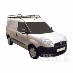 Rhino Modular Roof Rack 2.0m Long x 1.25m Wide Fiat Doblo (10 on) Twin Door SWB