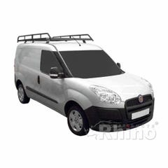 Rhino Modular Roof Rack 2.3m Long x 1.25m Wide Fiat Doblo (10 on) Twin Door Maxi