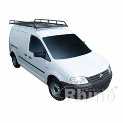 Rhino Modular Roof Rack 2.4m Long x 1.25m Wide Caddy (10 on) Maxi Twin Doors