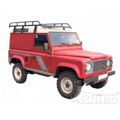 Rhino Modular Roof Rack 2.5m Long x 1.4m Land Rover 110 (83 on)