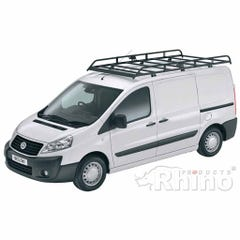 Rhino Modular Roof Rack 2.8m Long x 1.4m Wide Fiat Scudo (2007 on) Twin Door LWB