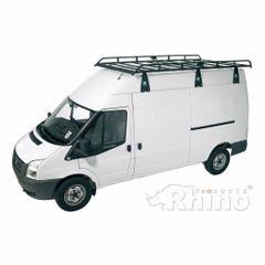 Rhino Modular Roof Rack 3.9m Long x 1.8m Wide Transit (00 on) High Roof Jumbo