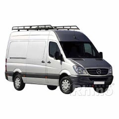 Rhino Modular Roof Rack 3.9m Long x 1.6m Wide Sprinter (06 on) Low Roof MWB