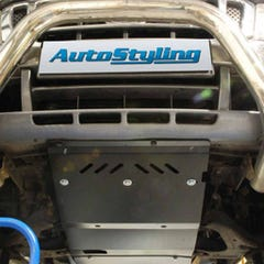 Skid Plate Steel 3mm Auto Trans Case and Transfer Box Hilux Mk6 (05-16)
