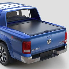 Mountain Top Black Roller Tonneau Cover Amarok Aventura Mk2 (15-21) DC
