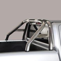 Roll Bar Design Single 76mm Stainless Mach for Volkswagen Amarok Mk1 & 2 (10 on)
