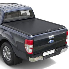 Mountain Top Black Roller Tonneau Cover Ranger Mk5-7 (2012 Onwards) Extra Cab