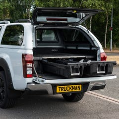 Decked Twin Drawer Storage System Isuzu D-Max Mk4-5 (12 on) EC