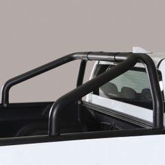 S/S Black 76mm Roll Bar For Truckman Tonneau Hilux Mk8