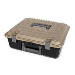 Decked D-Box Drawer Tool Box (Large) Desert Tan Lid