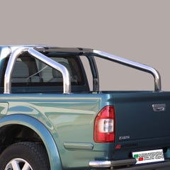 Roll Bar SINGLE 76mm Stainless Mach for Isuzu Rodeo Mk1-3  - JR compatible