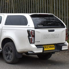Truckman Grand Hardtop Canopy, Roof Bars, Isuzu D-Max Mk6 (2021 Onwards) Double Cab