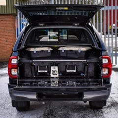 Decked Twin Drawer Storage System Hilux Mk8-9(16 on) DC