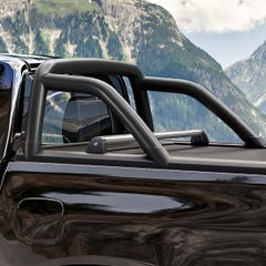 Mountain Top Black Rollbar To Fit MT Evo-M Tonneau Cover Toyota Hilux Mk8-9 (2016 Onwards)