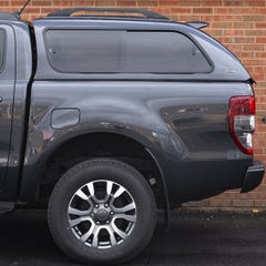 Truckman GLS Hardtop Canopy (Roof Bars) Ford Ranger Mk6-7 (2016 Onwards) Double Cab