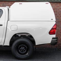 Truckman Classic Hardtop Canopy (Glazed Rear) Toyota Hilux Mk8-9 (2016 Onwards) Double Cab