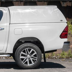 Truckman RS Hardtop Canopy (Solid Rear) Remote Locking, Toyota Hilux Mk8-9 (2016 Onwards) Double Cab