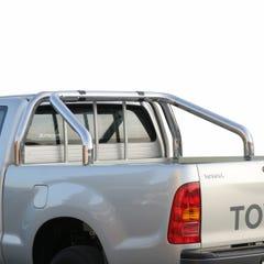 S/S 76mm Roll Bar For Truckman Tonneau Cover Hilux M8 (16 0n)