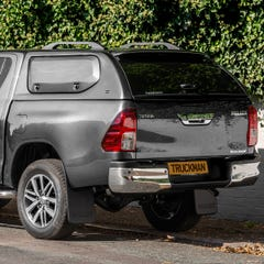 Truckman S-Series Hardtop Canopy (Solid Side Doors) Toyota Hilux Mk8-9 (2016 Onwards) Double Cab