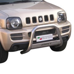 Front A Bar 63mm Stainless Mach Road Legal EU Crash Tested Jimny Mk3 (07-12)