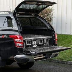 DECKED Twin Drawer Storage System Mitsubishi L200 Mk8 (2016 - 2019) Double Cab