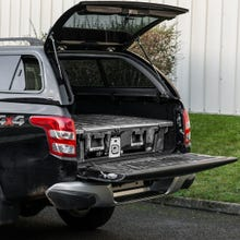 DECKED Twin Drawer Storage System Mitsubishi L200 Mk9 (2019 Onwards) Double Cab
