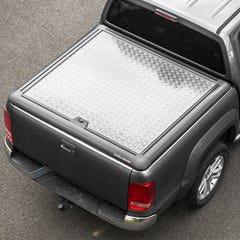 Truckman Silver Aluminium Lift-Up Tonneau Cover Volkswagen Amarok Mk1-2 (2010 - 2021) Double Cab