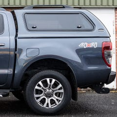 Truckman Max Hardtop Canopy (Gull Side Windows) Ford Ranger Mk5-7 (2016 Onwards) Double Cab