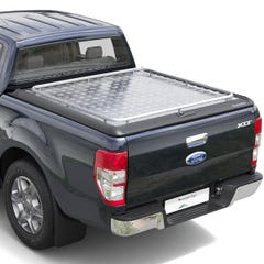 Mountain Top Style HD+ Lift Up Solid Aluminium Tonneau Cover Ford Ranger Mk5-7 (2012 Onwards) Double Cab