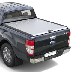 Mountain Top Silver Roller Tonneau Cover Ford Ranger Mk5-7 (2012 Onwards) Double Cab