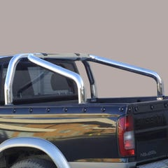 Roll Bar SINGLE 76mm Stainless Mach for Nissan D40/Navara (05 on)