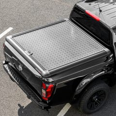 Truckman Black Aluminium Lift-Up Tonneau Cover Nissan Navara NP300 (2016 Onwards) Double Cab