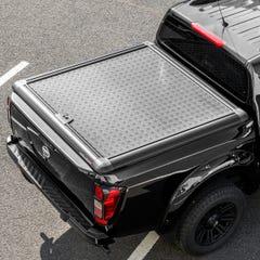 Truckman Aluminium Lift-Up Tonneau Cover (Black) Nissan Navara NP300 (2016 Onwards) Double Cab