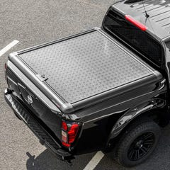 Truckman Black Aluminium Lift-Up Tonneau Cover Nissan Navara NP300 (2016 Onwards) Extra Cab