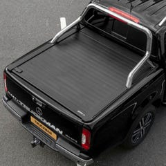 Truckman Retrax Roller Shutter Tonneau Cover & Steel Roll Bar Nissan Navara NP300/Mercedes X-Class (2016 Onwards) Double Cab