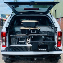 Decked Twin Drawer Storage System Ford Ranger Mk5-7 (12 on) EC