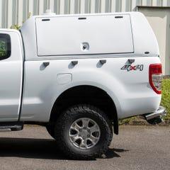 Truckman Utility Hardtop Canopy (Glazed Rear) Ford Ranger Mk5-7 (2012 Onwards) Extra Cab