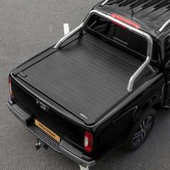 Truckman Retrax Tonneau Cover + Steel Roll Bar Isuzu D-Max (2012+) Double Cab
