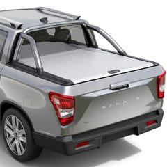Mountain Top Silver  Roller Tonneau Cover Ssangyong Musso (18 on) DC