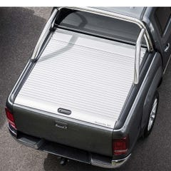 Mountain Top Silver Roller Tonneau Cover Ford Ranger Mk5-7 (2012 Onwards) Extra Cab
