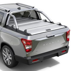 Mountain Top Cross Bars to fit MT Roller Tonneau Cover SsangYong Musso (2018 Onwards) Double Cab