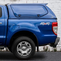 Truckman S-Series Hardtop Canopy (Solid Side Doors) Ford Ranger Mk5-7 (2016 Onwards) Double Cab
