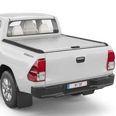 Mountain Top Silver Roller Tonneau Cover Toyota Hilux Mk8-9 (2016 Onwards) Double Cab
