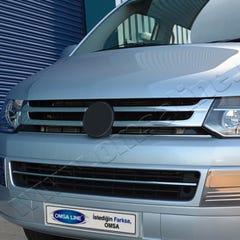 Front Grille Stainless Steel Volkswagen Transporter T5  (2003 - 2010)