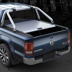 Mountain Top Silver Roller Tonneau Cover Silver Amarok Canyon Mk2 (15 on) DC