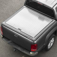 Truckman Silver Aluminium Lift-Up Tonneau Cover Ford Ranger Mk5-7 (2012 Onwards) Double Cab