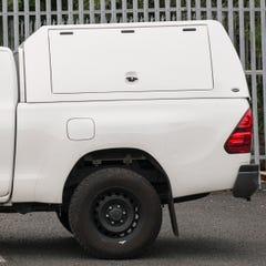 Truckman Utility Hardtop Canopy (Glazed Rear) Toyota Hilux Mk8-9 (2016 Onwards) Double Cab
