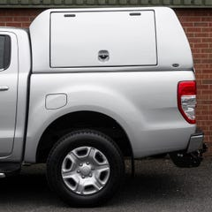 Truckman Utility Hardtop Canopy (Glazed Rear) Ford Ranger Mk5-7 (2012 Onwards) Double Cab