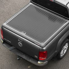 Truckman Black Aluminium Lift Up Tonneau Cover Amarok Mk1-2 (10-20) DC