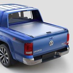 Mountain Top Silver Roller Tonneau Cover Volkswagen Amarok Aventura Mk2 (2015 - 2021) Double Cab